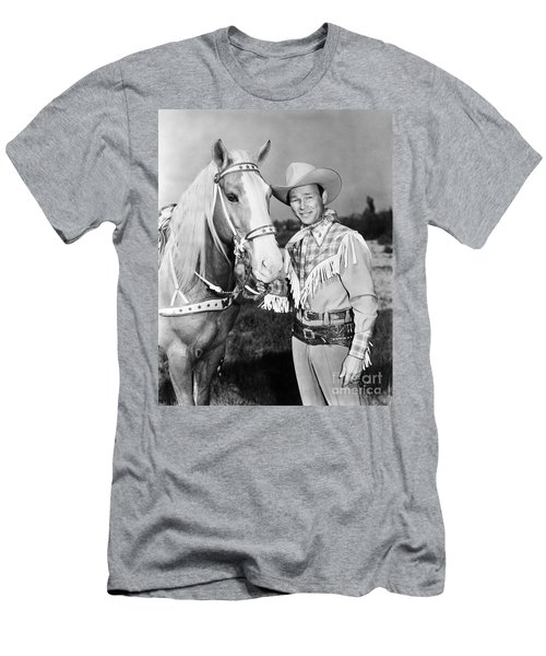 Roy Rogers Men's T-Shirt (Athletic Fit)