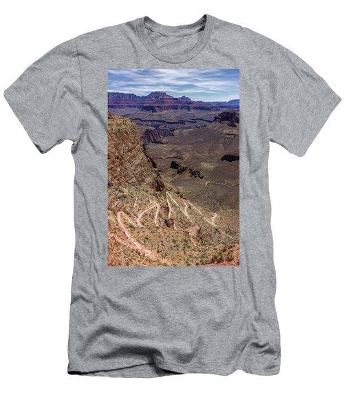 South Kaibab Trail Men's T-Shirt (Athletic Fit)