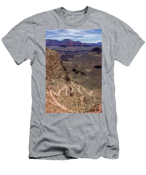 South Kaibab Trail Men's T-Shirt (Athletic Fit)