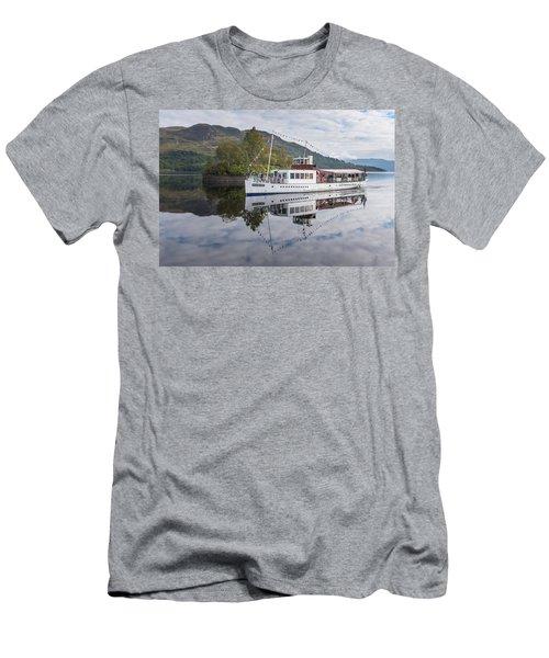 Steamship Sir Walter Scott On Loch Katrine Men's T-Shirt (Athletic Fit)