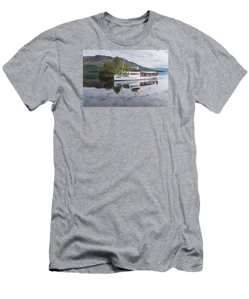 Steamship Sir Walter Scott On Loch Katrine Men's T-Shirt (Athletic Fit)