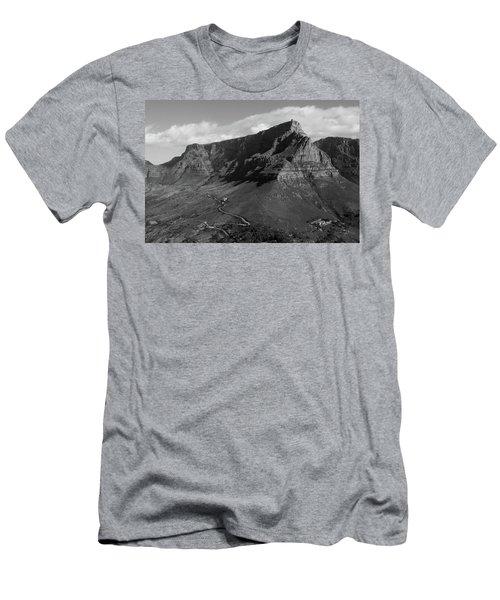 Table Mountain - Cape Town Men's T-Shirt (Athletic Fit)