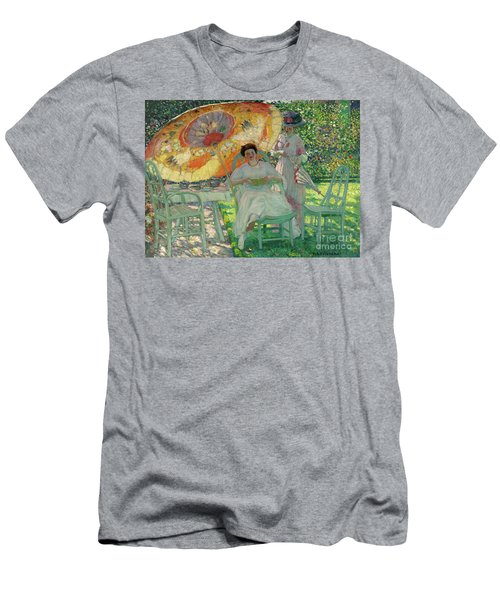 The Garden Parasol Men's T-Shirt (Athletic Fit)