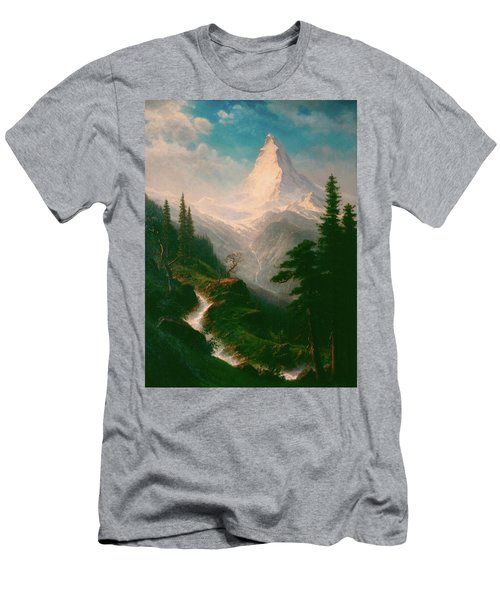 The Matterhorn Men's T-Shirt (Athletic Fit)