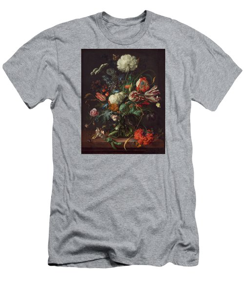 Vase Of Flowers Men's T-Shirt (Athletic Fit)