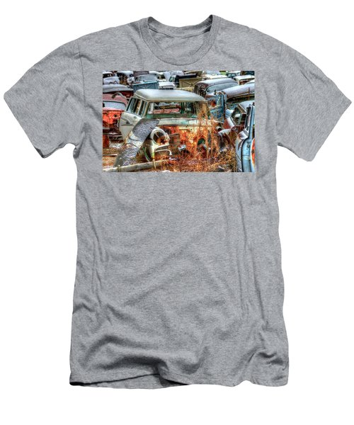 Wagon Men's T-Shirt (Athletic Fit)