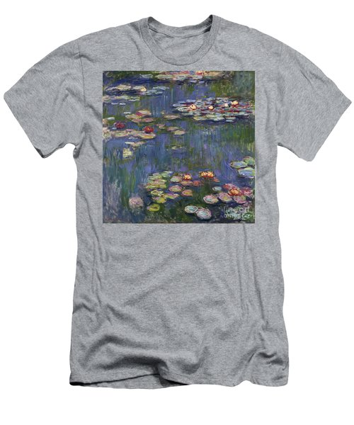 Water Lilies, 1916 Men's T-Shirt (Athletic Fit)