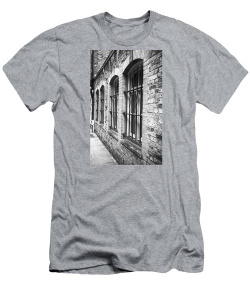 Window Bars Men's T-Shirt (Athletic Fit)