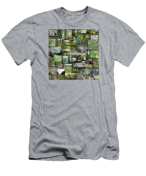 2015 Pdga Amateur Disc Golf World Championships Photo Collage Men's T-Shirt (Athletic Fit)