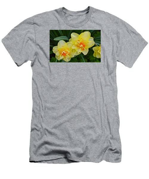 2015 Spring At The Gardens Tango Daffodil Men's T-Shirt (Athletic Fit)