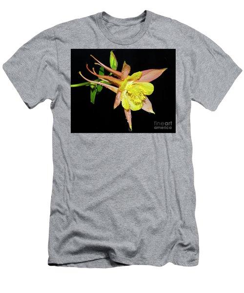 Spring Flower Men's T-Shirt (Slim Fit) by Elvira Ladocki