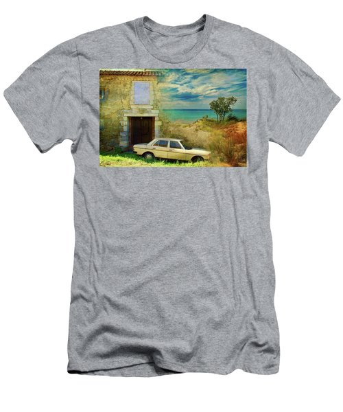 24 Hr Parking By The Beach Men's T-Shirt (Athletic Fit)