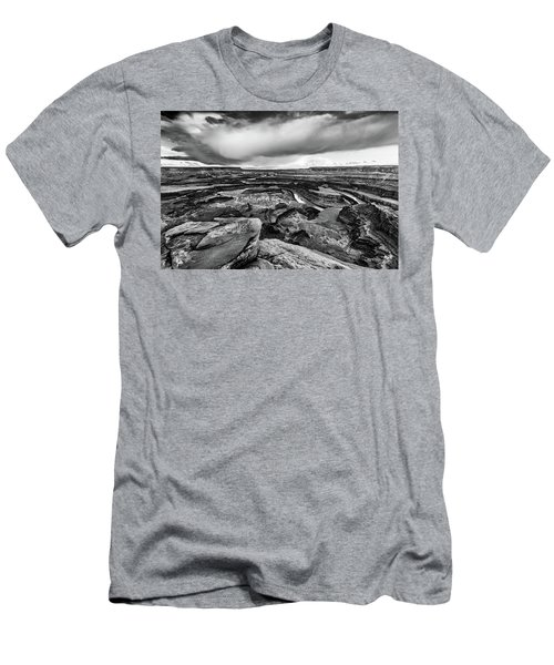 Men's T-Shirt (Slim Fit) featuring the photograph Dead Horse Point by Jay Stockhaus