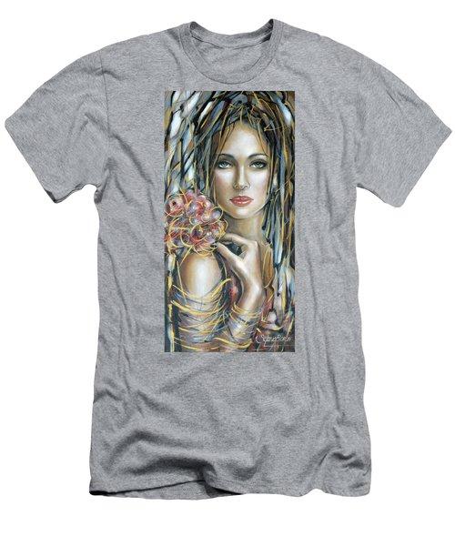 Drama Queen 301109 Men's T-Shirt (Slim Fit) by Selena Boron