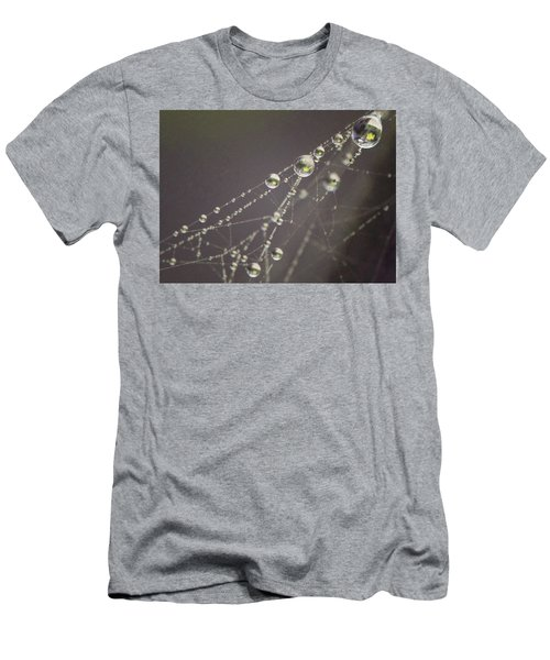 Droplets Men's T-Shirt (Athletic Fit)