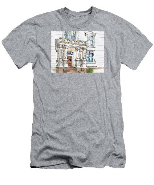 Essex Street Front Door Men's T-Shirt (Slim Fit) by Paul Meinerth
