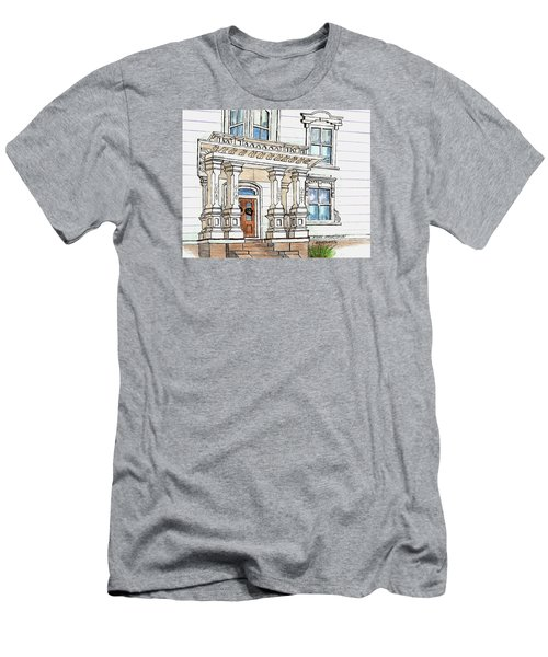Essex Street Front Door Men's T-Shirt (Athletic Fit)