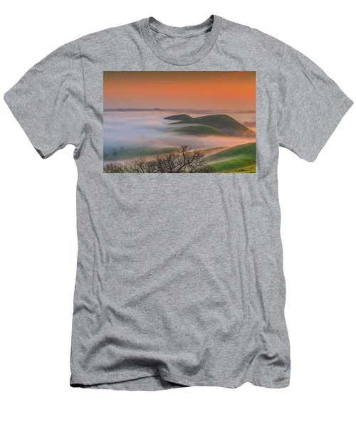 Fog At Sunrise Men's T-Shirt (Athletic Fit)