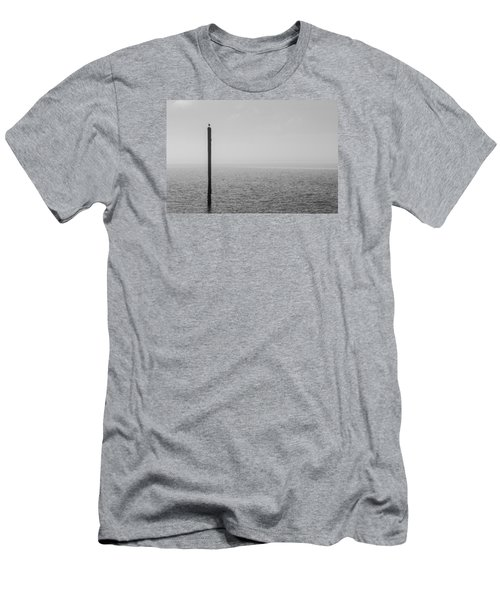 Men's T-Shirt (Athletic Fit) featuring the photograph Fog On The Cape Fear River by Willard Killough III