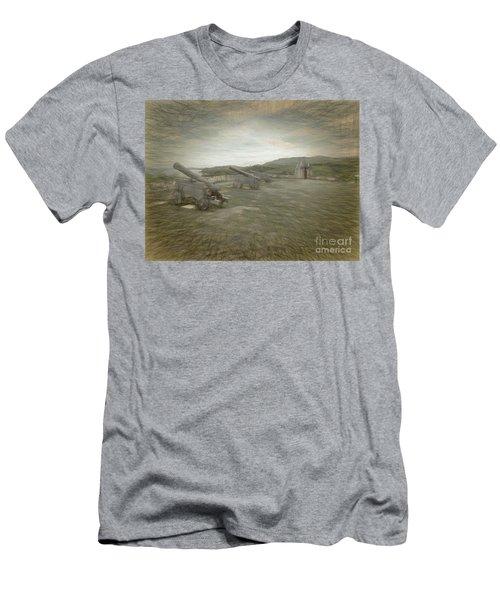 Fort Nuestra De La Soledad Men's T-Shirt (Athletic Fit)