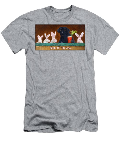 Hare Of The Dog... Men's T-Shirt (Athletic Fit)