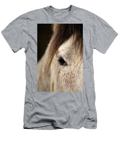 Horse Portrait Men's T-Shirt (Athletic Fit)