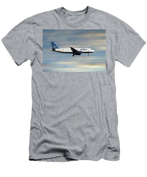 Jetblue Airways Airbus A320-232 Men's T-Shirt (Athletic Fit)