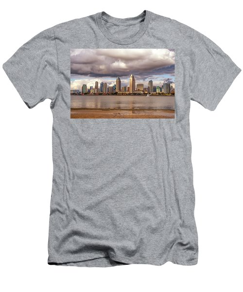 Passing By Men's T-Shirt (Slim Fit) by Joseph S Giacalone