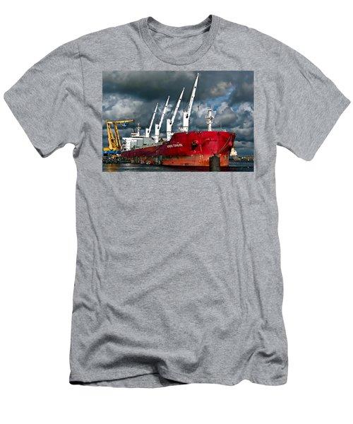 Port Of Amsterdam Men's T-Shirt (Athletic Fit)
