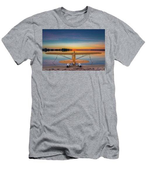 Splash-in Sunrise  Men's T-Shirt (Athletic Fit)