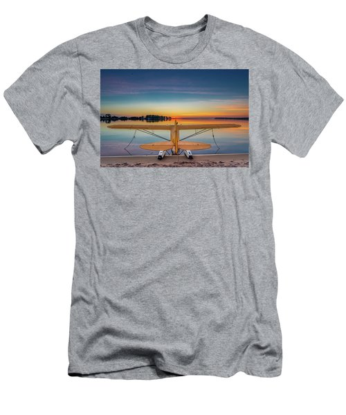 Splash-in Sunrise  Men's T-Shirt (Athletic Fit)