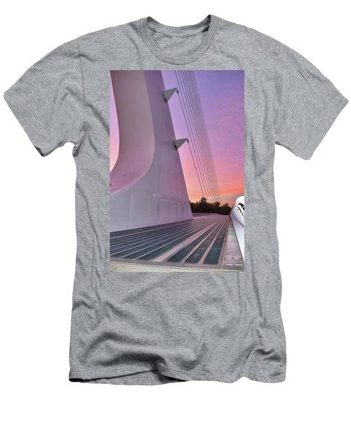 Sundial Bridge Men's T-Shirt (Athletic Fit)