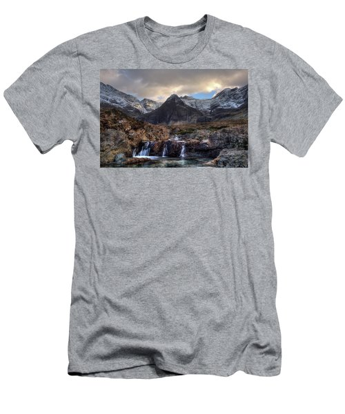 The Fairy Pools, Isle Of Skye Men's T-Shirt (Athletic Fit)