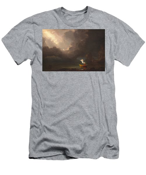 The Voyage Of Life Old Age Men's T-Shirt (Athletic Fit)