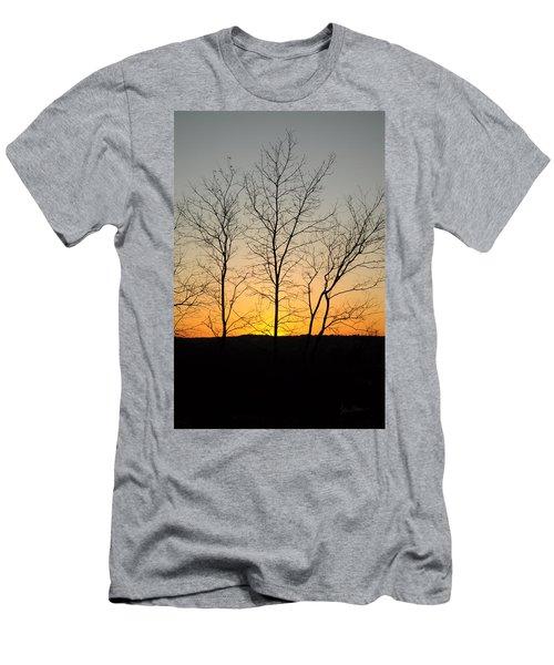 3 Trees Men's T-Shirt (Athletic Fit)