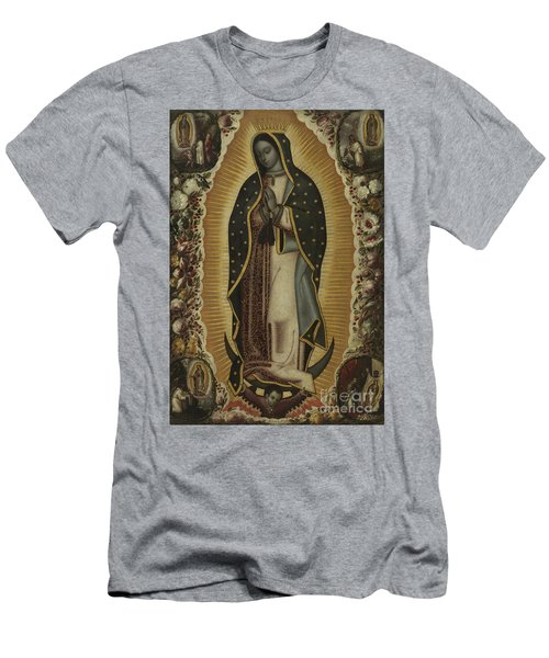 Virgin Of Guadalupe Men's T-Shirt (Athletic Fit)