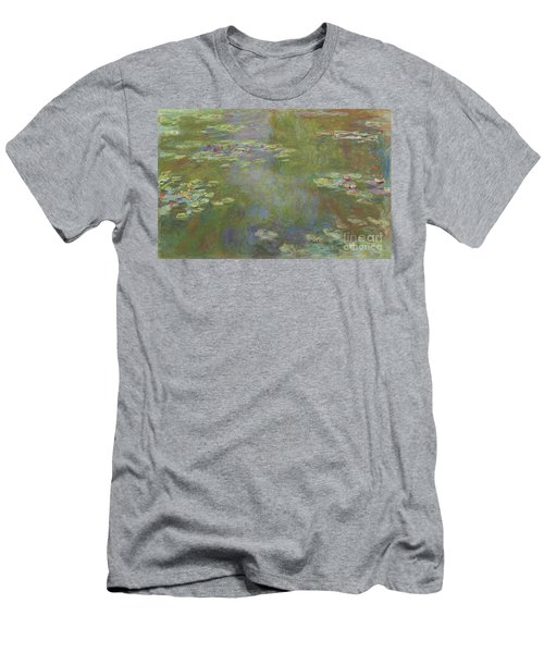 Water Lily Pond Men's T-Shirt (Athletic Fit)