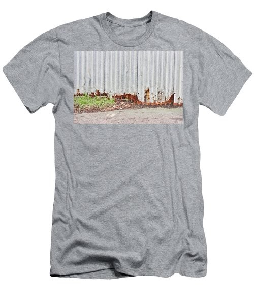 Rusty Metal Men's T-Shirt (Athletic Fit)