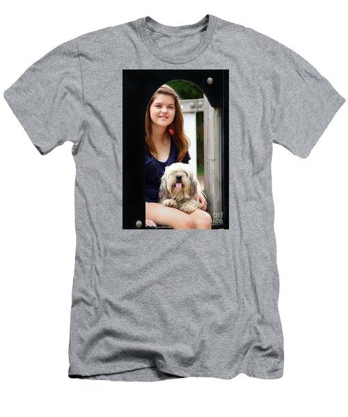 3491 Men's T-Shirt (Slim Fit) by Mark J Seefeldt