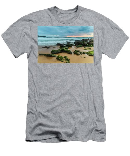 Dawn Seascape Men's T-Shirt (Athletic Fit)