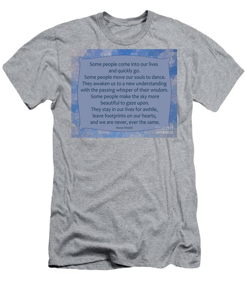 35- Some People Men's T-Shirt (Slim Fit) by Joseph Keane