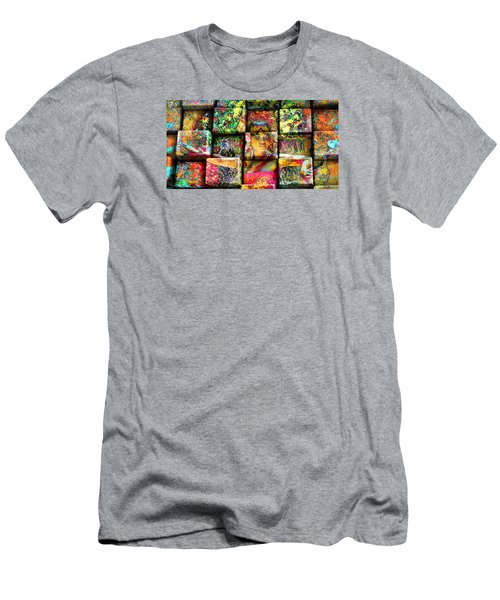3d Cubist Men's T-Shirt (Athletic Fit)