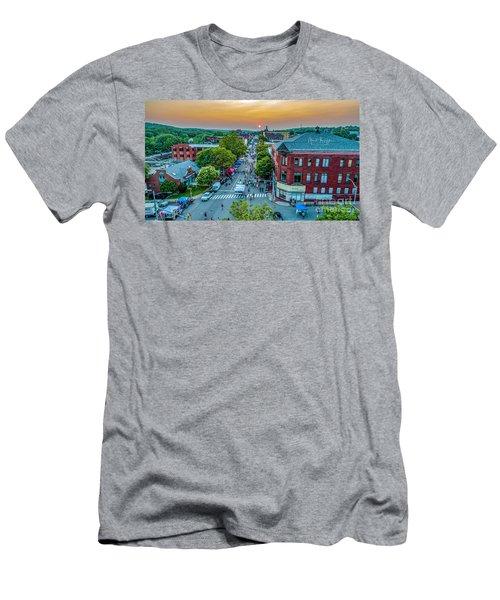 3rd Thursday Sunset Men's T-Shirt (Athletic Fit)