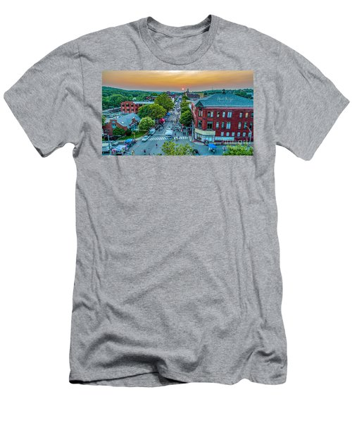 Men's T-Shirt (Athletic Fit) featuring the photograph 3rd Thursday Sunset by Michael Hughes