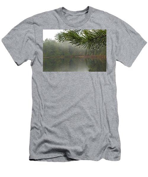 After The Rain Men's T-Shirt (Slim Fit) by Inge Riis McDonald