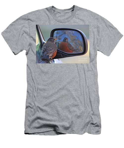 American Robin Men's T-Shirt (Athletic Fit)