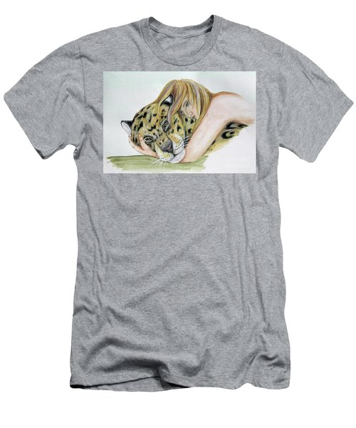 Anam Leopard Men's T-Shirt (Athletic Fit)