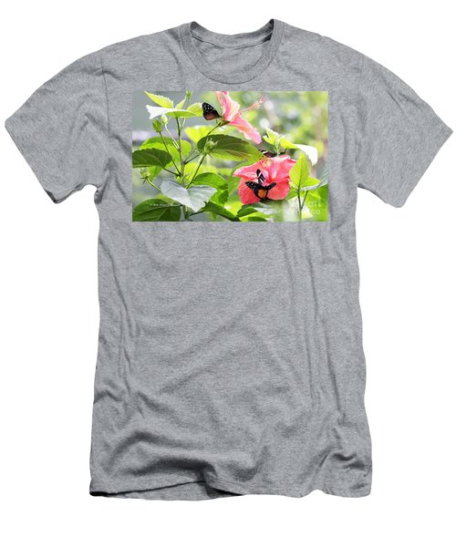 Cream-spotted Clearwing Butterfly Men's T-Shirt (Athletic Fit)