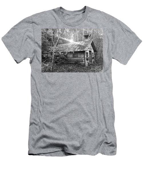 One Room School House Gnawbone Indiana Men's T-Shirt (Slim Fit) by Scott D Van Osdol