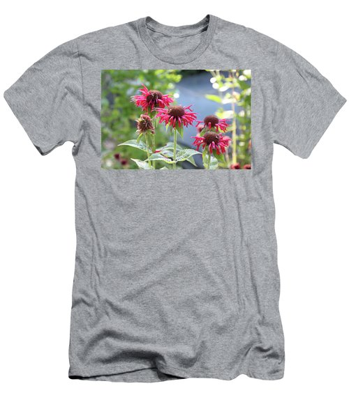 Red Flower Men's T-Shirt (Athletic Fit)